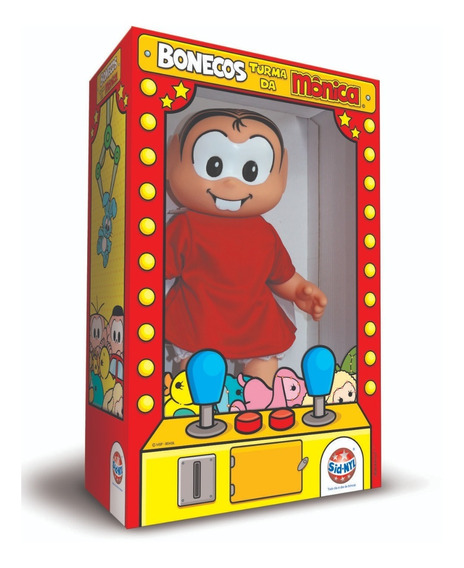 Boneca Turma Da Mônica - Mônica - 34cms. Promoção