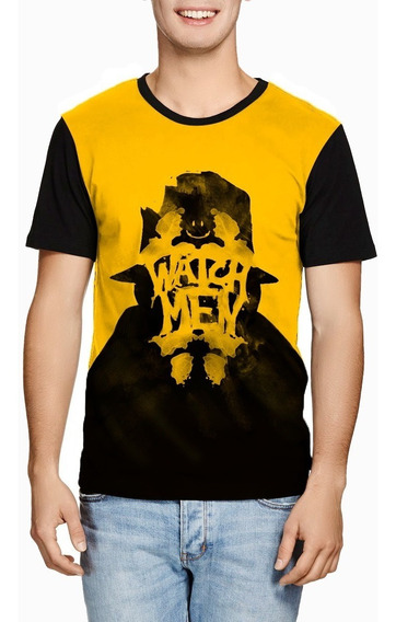 Camiseta Watchmen Rorschach Dc