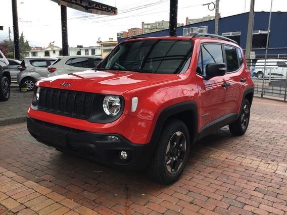 Jeep Renegade Sport X Mec Rojo Colorado