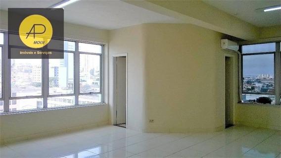 Sala Comercial Com 83 M² No Centro De Mogi Das Cruzes - Sa0005