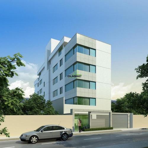 Apartamento Com Área Privativa Com 3 Quartos Para Comprar No Itapoã Em Belo Horizonte/mg - 3697
