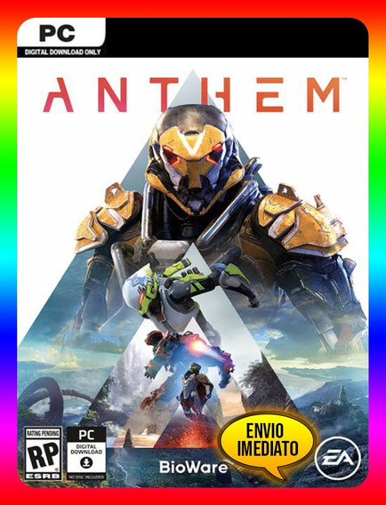Anthem Português Pc - Origin Key (envio Já)