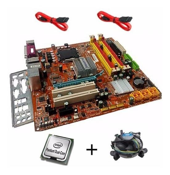 Kit Itautec St4261 775 Ddr2 + Dual Core C/ Garantia
