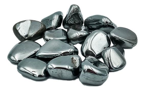 Pedra Rolada Natural Hematita 500 Gramas 2 A 3 Cm