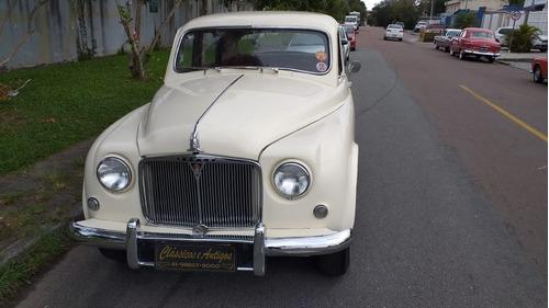 Rover P4 1952 Troco Por Antigos
