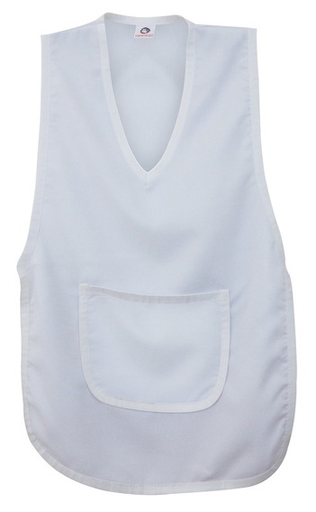 Avental Oxford C/bolso Multiuso Branco Garra - Unidade