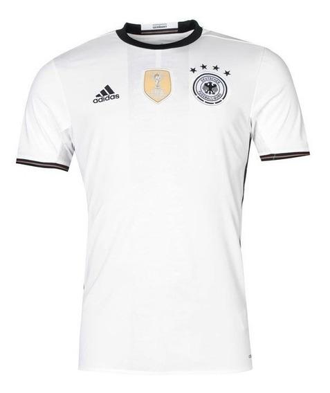 Camisa adidas Sel. Alemanha I 2016 S/nº