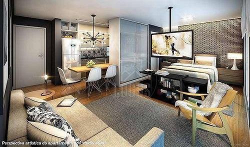 Imagem 1 de 15 de Apartamento Com 1 Dormitório À Venda, 42 M² Por R$ 303.000,00 - Boa Vista - São Caetano Do Sul/sp - Ap1002
