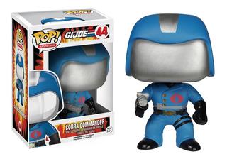 Funko Pop! Gi Joe Cobra Commander #44. Fun Labs.
