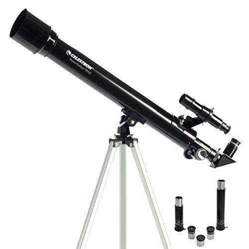 Telescopio Celestron Buscador De Poder 50 Az Refractor