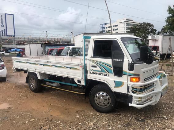 Super Oferta Camion Daihatsu Delta 2001 Cama Larga Barato