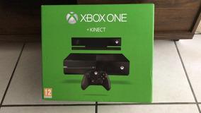 Xbox One 500gb Com Kinect Na Caixa