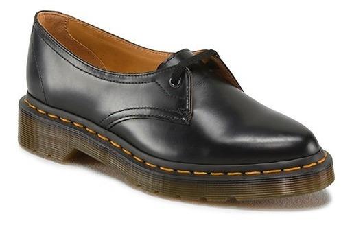 Zapatos Casuales Piel Negros P/ Dama Dr Martens 100% Siano