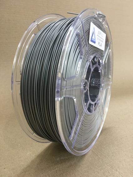Filamento 3d Pla _ 1,75 Mm _ 1kg - Prata_frete Grátis