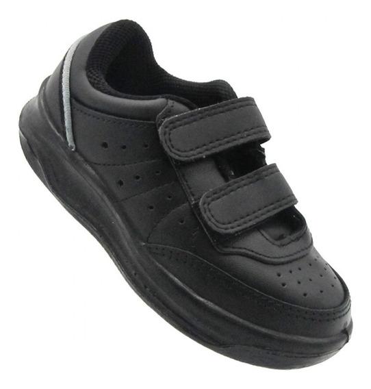 23579 Topper Zapatillas X Forcer Negras Con Abrojo Niños
