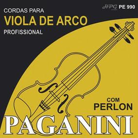 Encordoamento Para Viola De Arco Com Perlon Paganini Pe 990