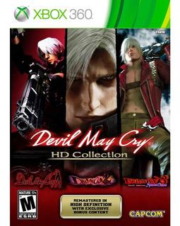 Devil May Cry Hd Collection Xbox 360 - Nuevo !- Físico!