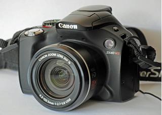 Camara Semi Profesional: Canon Powershot Sx40 Con Sistema Sh