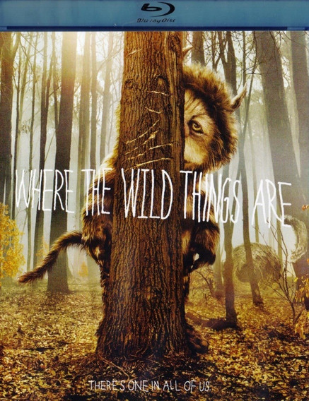 Donde Viven Los Monstruos Where The Wild Things Blu-ray