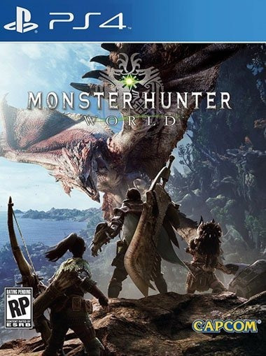 Monster Hunter World Ps4 Original**1 Digital
