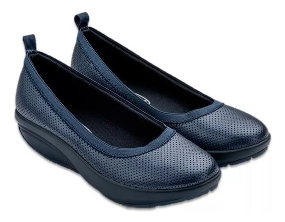 Zapato Confort Walkmaxx Ultra Cómodo Con Plantillas Inova