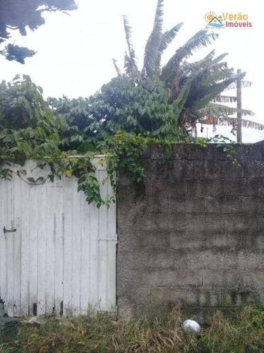 Imagem 1 de 4 de Terreno À Venda, 125 M² Por R$ 75.000,00 - Jardim Corumbá - Itanhaém/sp - Te0109