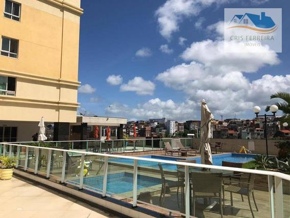 Apartamento Com 2 Dormitórios À Venda, 65 M² Por R$ 350.000 - Vila Laura - Salvador/ba - Ap0194