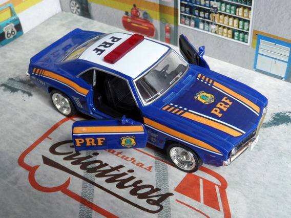 Miniatura Viatura Prf - Polícia Rodoviária Federal - Camaro