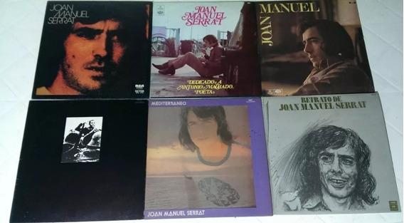 Lote 10 Discos Vinilo - 6 Joan Manuel Serrat Y 4 Armenia