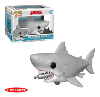 Figura Funko Pop Jaws - 6 Jaws W/diving Tank 759