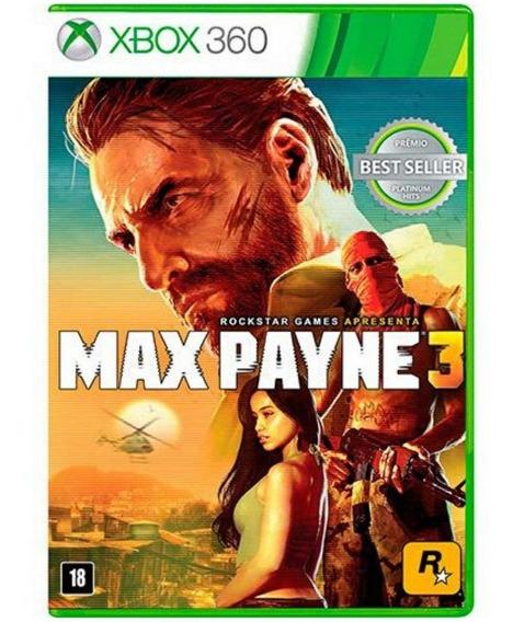 Jogo Max Payne 3 - Xbox 360 - Usado