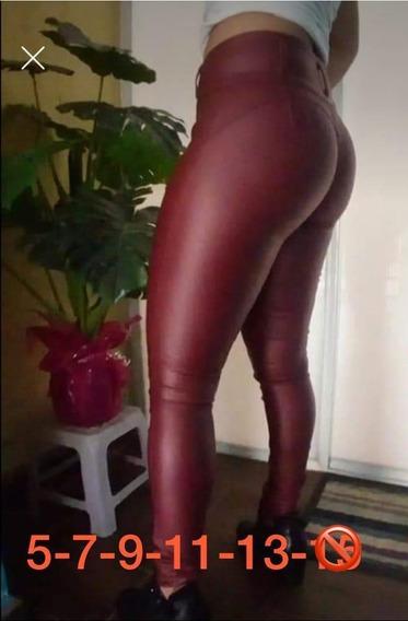 Pantalones Vinipiel Corte Colombiano Levanta Pompis Calidad