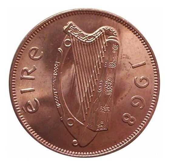 Irlanda Moneda De 1 Penny Año 1968 Sin Circular