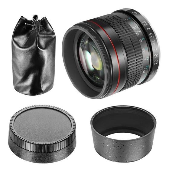 Nikon 85mm F/1.8 Lente Manual Jintu Desfoque Retrato Tele