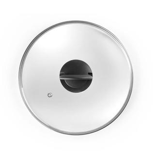 Tapa Cristal Para Ollas Y Sartenes Pomo Plegable 16cm Ibili