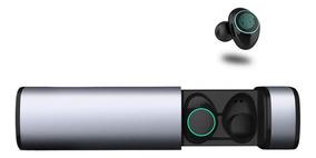 Auriculares De Bluetooth Manos Libres Base De Carga X9 Plata
