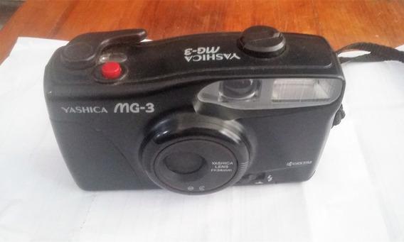 Maquina Fotográfica Antiga - Yashica Mg-3