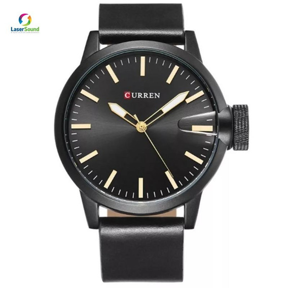Relógio Masculino Curren 8208 C/ Garantia E Nf