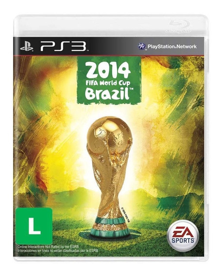 Copa Do Mundo Da Fifa Brazil 2014 Ps3 Midia Fisica Lacrado