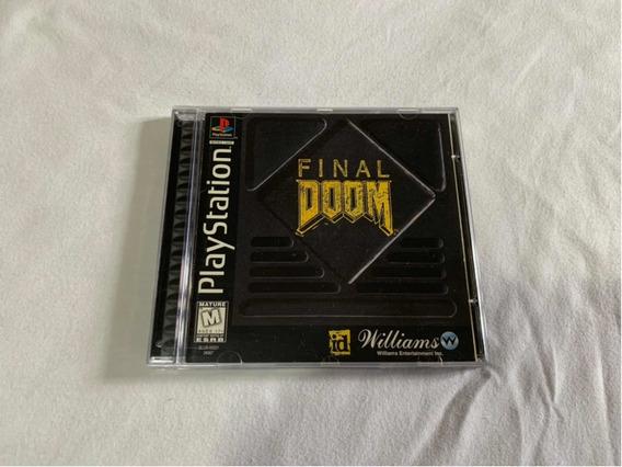 Final Doom Ps1 Original Completo Americano