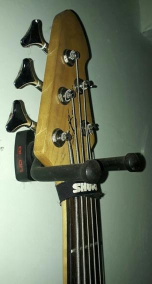 Soporte De Pared Guitarra, Bajo, Cuatro - 10verdes