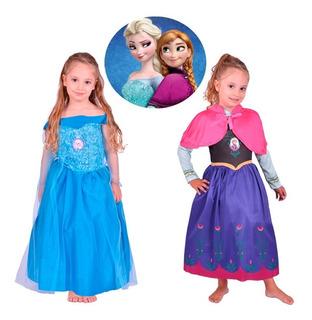 Disfraz Frozen Con Luz Princesa Anna O Elsa Disney New Toys