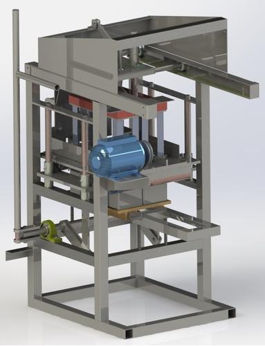 Imagem 1 de 10 de Projeto Maquina De Fazer Blocos De Cimento