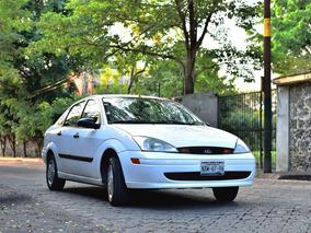 Ford Focus, Unico Dueño, Muy Conservado Y Confiable 2002