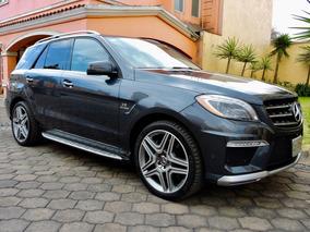 Mercedes-benz Clase Ml 63 Amg 2014 Factura Original, Tomo Au