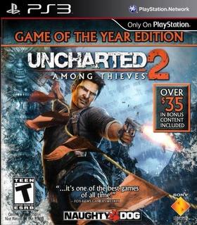 Uncharted 2 Edicion Juego Del Año ~ Ps3 Digital Español