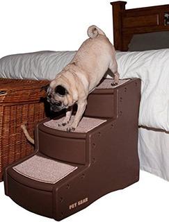 Escaleras Para Mascotas, 3 Pasos / Para Gatos Y Perros