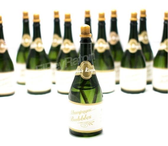 48 Burbujero Botella De Champagne Burbujas Bodas Recuerdos