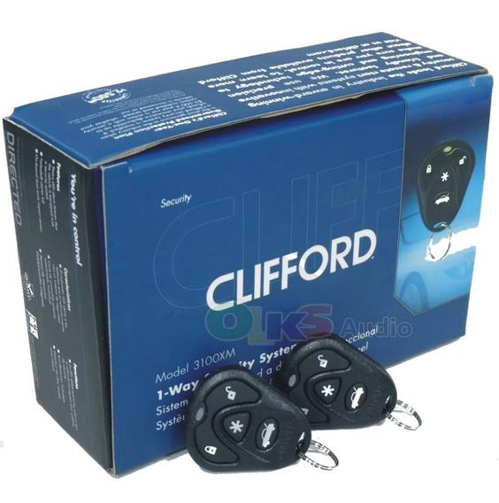 Clifford G5 Alarma de coche 5 botones remotos Llavero Original