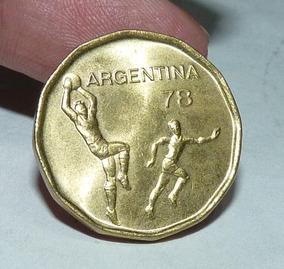 Moneda Argentina 20 Pesos Mundial 78. Curio-city